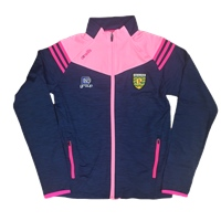 ONeills Donegal Colorado Ladies FZ Brushed Jkt - Navy/Pink