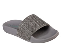 Skechers Womens Pop Ups - Stone Age - Pewter