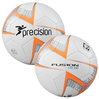 PT Fusion Lite Soccer Training Ball - 290gms - White/Orange