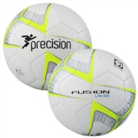 PT Fusion Lite Soccer Training Ball - 320gms - White/Yellow