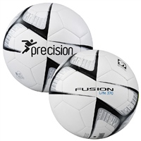 PT Fusion Lite Soccer Training Ball - 370gms - White/Black
