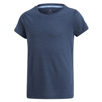 Adidas Girls Training Prime Tee - Navy
