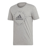 Adidas Mens Must Have Emblem T-Shirt - Grey