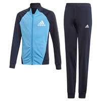 Adidas Girls PES Tracksuit - Navy/Royal