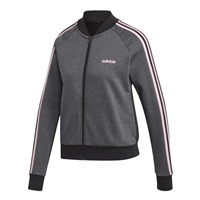 Adidas Womens Ess. Seasonal Bomber - Grey/Black/Pink