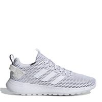 Adidas Womens Lite Racer Climacool Runners - White/Grey/White