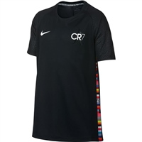 Nike Boys Mercurial CR7 T-Shirt - Black/White