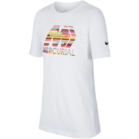 Nike Boys Mercurial NK Dry T-Shirt - White