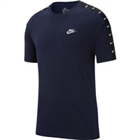 Nike Mens NSW HBR Swoosh T-Shirt - Dark Navy