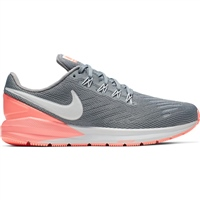 Nike Womens Air Zoom Structure 22 - Grey/Pink