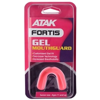 ATAK Sports Fortis Gel Mouthguard - Pink