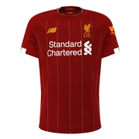 New Balance Liverpool FC Home Jersey 19/20 - Kids - Red