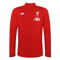 New Balance Liverpool FC Long Sleeve Midlayer 19/20 - - Red