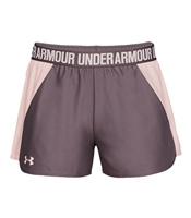 Under Armour Womens Play Up Shorts - Purple/Peach