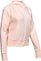 Under Armour Womens TB Ottoman Full Zip Fleece - Peach