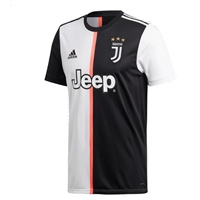 Adidas Juventus FC Home Jersey 19/20 - Kids - Black/White