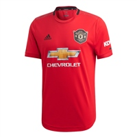 Adidas Manchester United Home Jersey 19/20 - Kids - Red