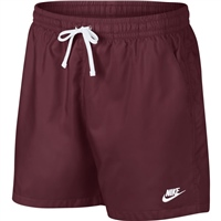 Nike Mens NSW Woven Shorts - Maroon/Yellow