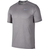 Nike Mens Dry Cool Miler S/S Top - Grey