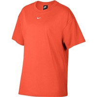 Nike Womens Essential S/S Top BF LBR - Orange