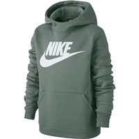 Nike Boys Pullover Fleece Hoodie - Green