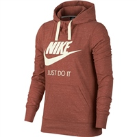 Nike Womens NSW Gym Vintage Hoodie HBR - Dusty Peach