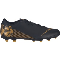 Nike Vapor 12 Club FG Boots - Black/Gold
