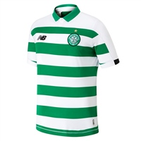 New Balance Celtic FC Home Jersey 19/20 - Kids - Green/White