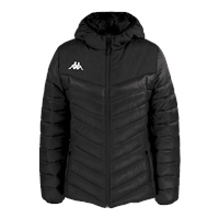 Kappa Womens Doccia Padded Jacket - Black