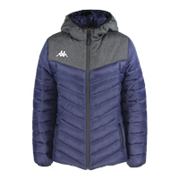 Kappa Doccia Padded Jacket - Blue Marine/Grey Mel