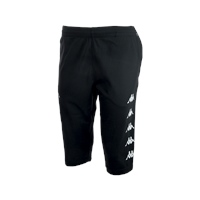 Kappa Bardino Long Short - Black - (MIN. QTY 6)