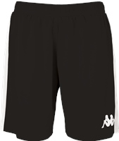 Kappa Calusa Womens Basketball Short - Black/White