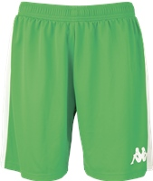 Kappa Calusa Womens Basketball Short - Green/White