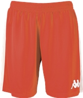 Kappa Calusa Womens Basketball Short - Red/White