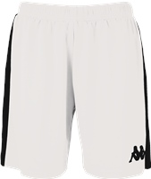 Kappa Calusa Womens Basketball Short - White/Black