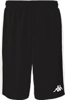 Kappa Caluso Basketball Short - Black/White