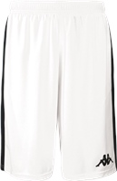 Kappa Caluso Basketball Short - White/Black