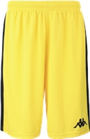 Kappa Caluso Basketball Short - Yellow/Black