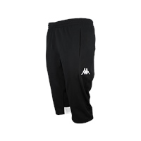 Kappa Mestre Long Short - Black/White - (MIN. QTY 6)