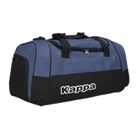 Kappa Brenno Sport Bag - Black/Blue Marine
