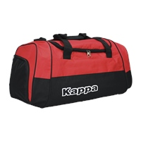 Kappa Brenno Sport Bag - Black/Red