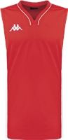 Kappa Cairo Basketball Shirt - Red/White
