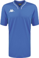 Kappa Calascia Basketball Shooter Shirt - Blue Nautic/White