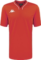 Kappa Calascia Basketball Shooter Shirt - Red/White