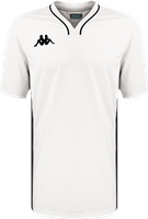 Kappa Calascia Basketball Shooter Shirt - White/Black