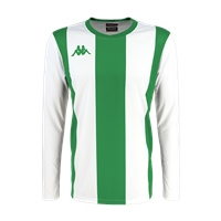 Kappa Caserne Jersey Ls - White/Green