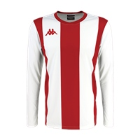 Kappa Caserne Jersey Ls - White/Red