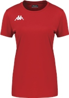 Kappa Roviga Womens Jersey Ss - Red
