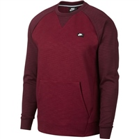 Nike Mens NSW Optic Crew Top - Maroon