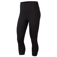 Nike Womens One Tight Capris - Black/White